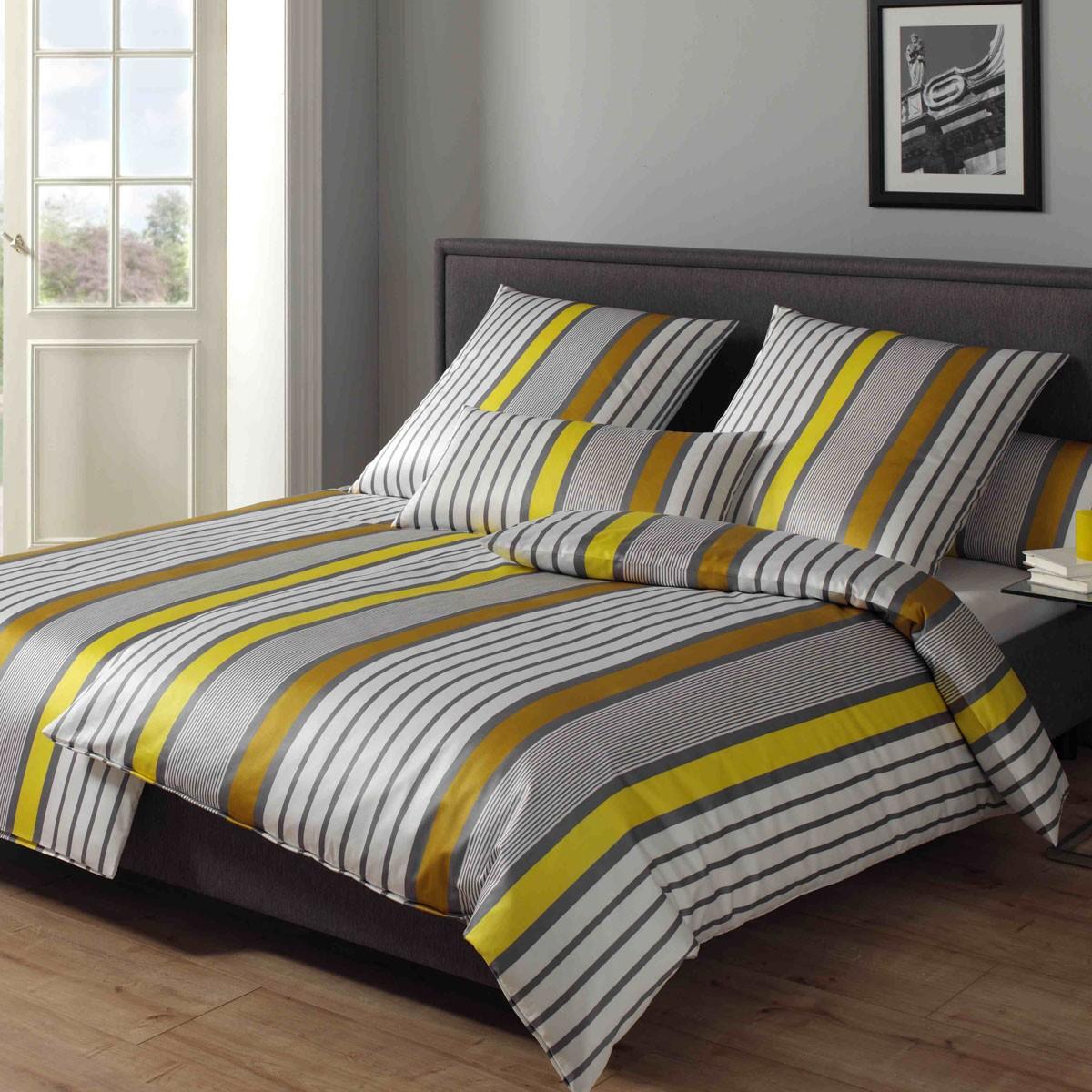 bettw sche elegante bondstreet 2073 gold. Black Bedroom Furniture Sets. Home Design Ideas