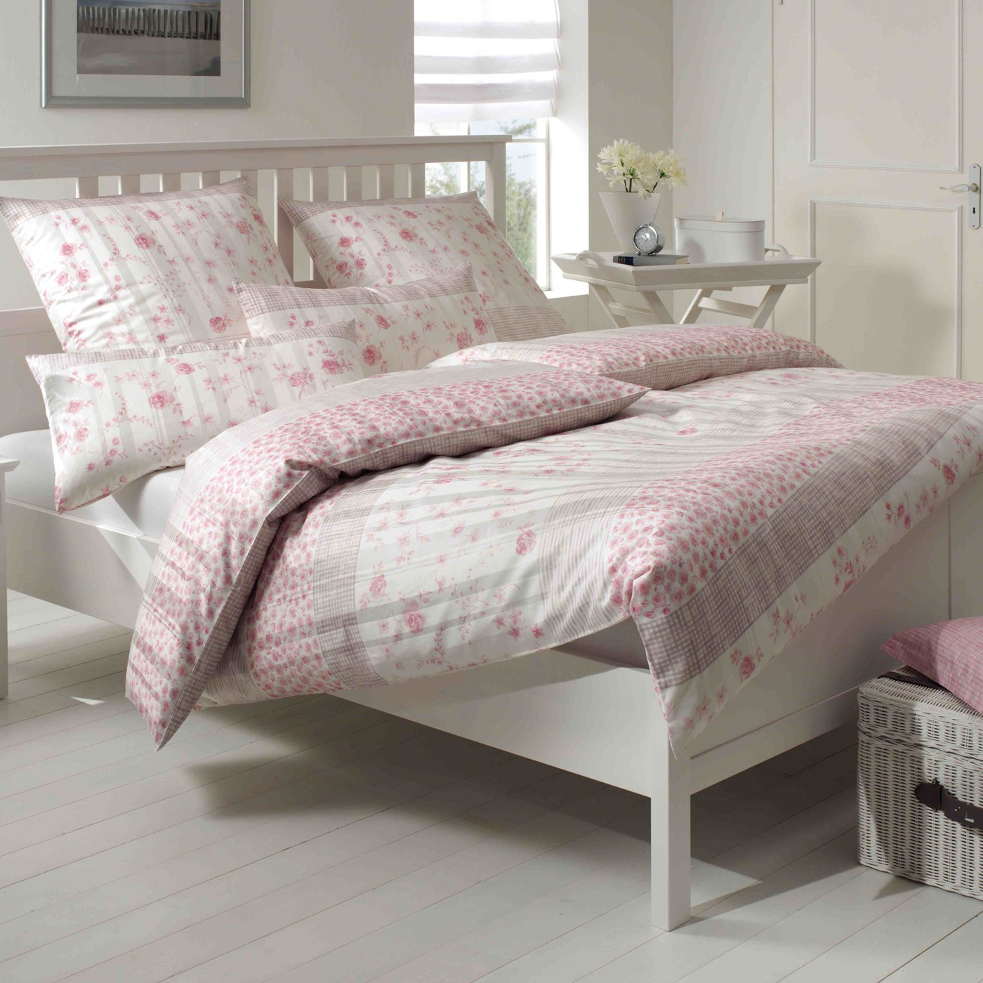 bettw sche elegante cornwall 2083 rose. Black Bedroom Furniture Sets. Home Design Ideas