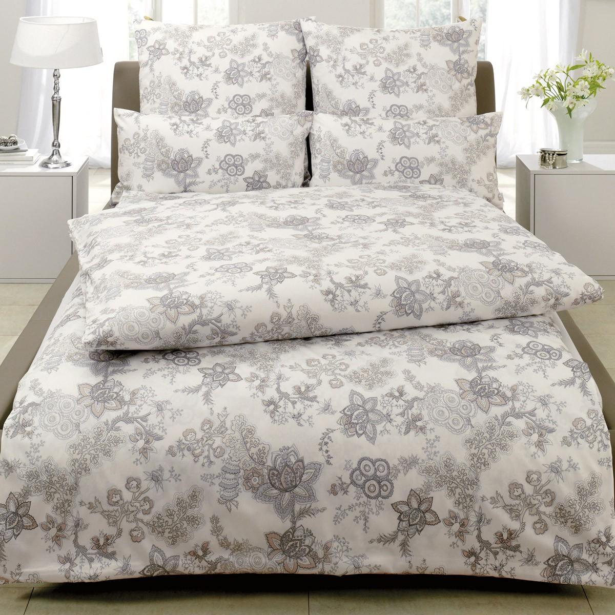 bettw sche estella luc 2404 creme. Black Bedroom Furniture Sets. Home Design Ideas