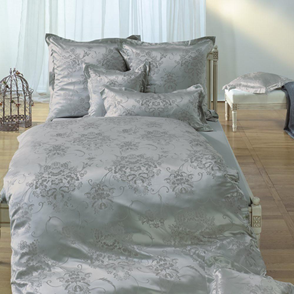 bettw sche curt bauer marie antoinette silber. Black Bedroom Furniture Sets. Home Design Ideas