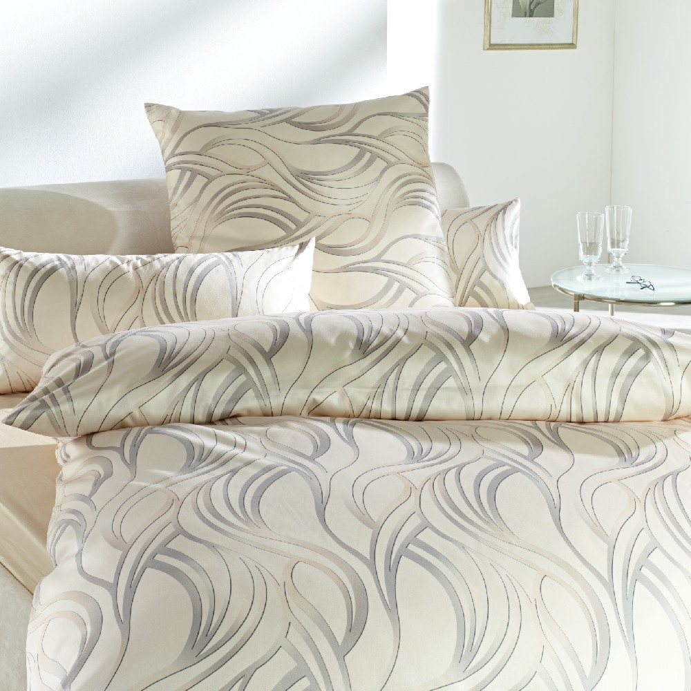 bettw sche curt bauer delta 6180 creme. Black Bedroom Furniture Sets. Home Design Ideas