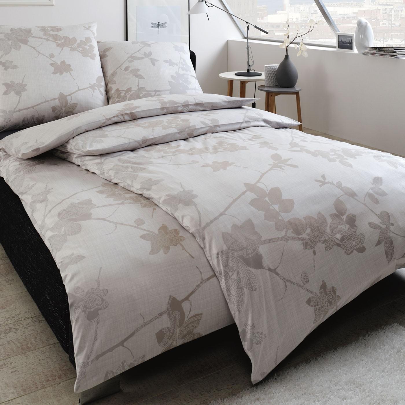 bettw sche estella eibe 6416 silber. Black Bedroom Furniture Sets. Home Design Ideas