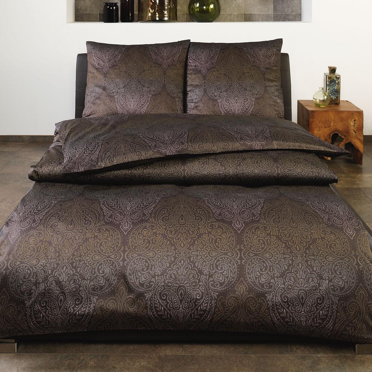 bettw sche estella edin 7409 messing. Black Bedroom Furniture Sets. Home Design Ideas