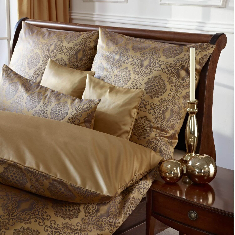 bettw sche curt bauer bologna 2317 schatten gold. Black Bedroom Furniture Sets. Home Design Ideas