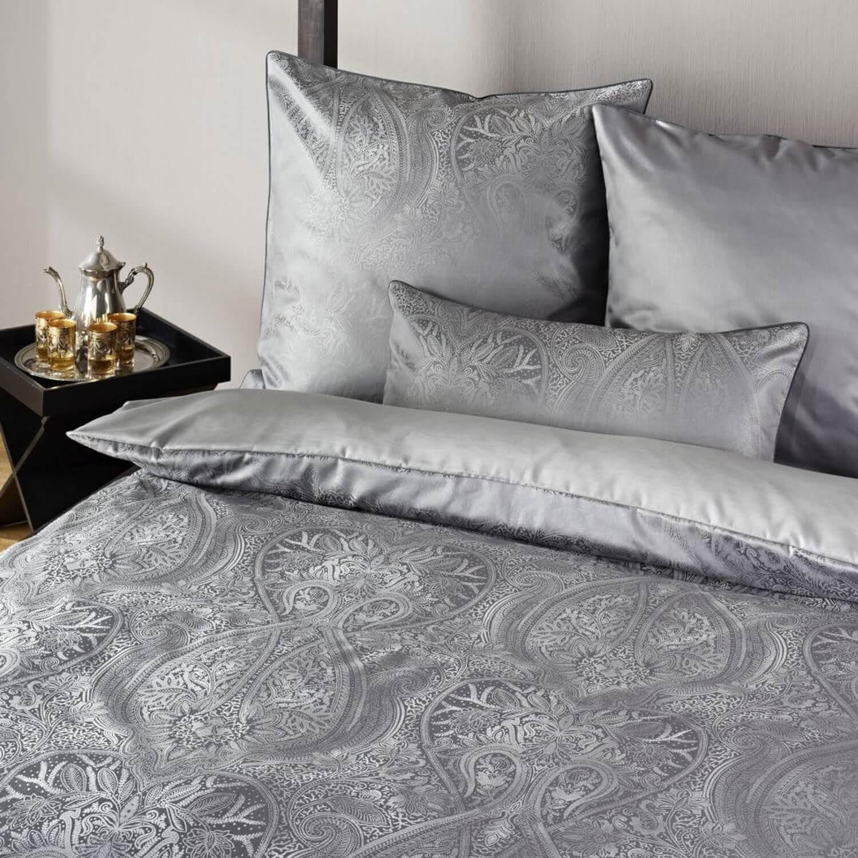 bettw sche curt bauer delhi 2481 anthrazit. Black Bedroom Furniture Sets. Home Design Ideas