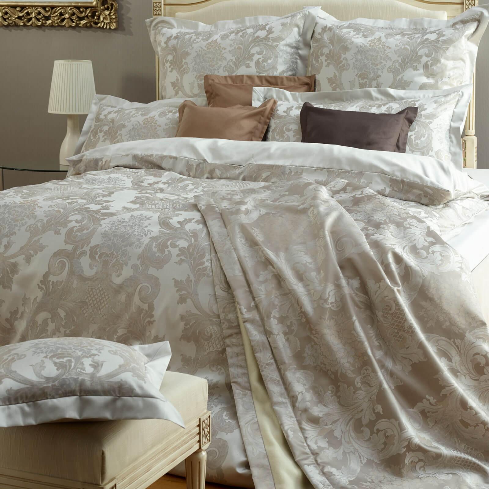 bettw sche curt bauer louis 2476 altsilber. Black Bedroom Furniture Sets. Home Design Ideas