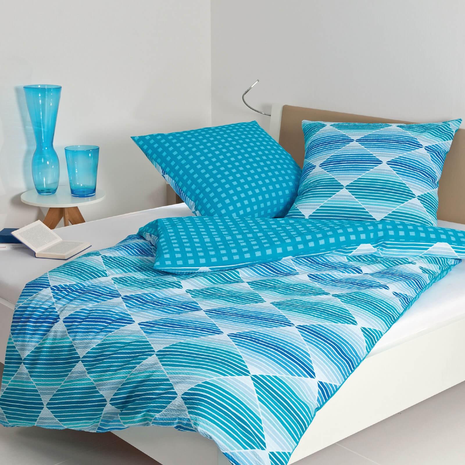 bettw sche janine tango 2430 aqua. Black Bedroom Furniture Sets. Home Design Ideas