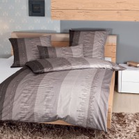 Bettwäsche Janine Messina 43034 taupe