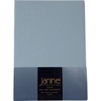 Spannbetttuch Janine Jersey 5007 hellblau