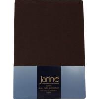 Spannbetttuch Janine Jersey 5007 dunkelbraun