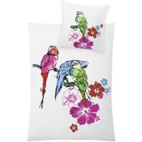 Bettwäsche Kleine Wolke Parrot rubin