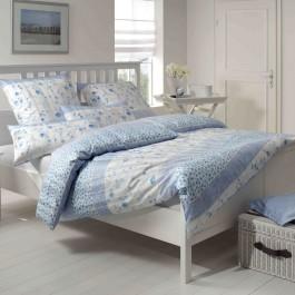 Bettwäsche Elegante Cornwall 2083 himmelblau