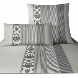 bettw sche joop ornament stripe 4022 grau. Black Bedroom Furniture Sets. Home Design Ideas