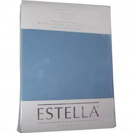 Spannbetttuch Estella Zwirn-Jersey 6900 hellblau