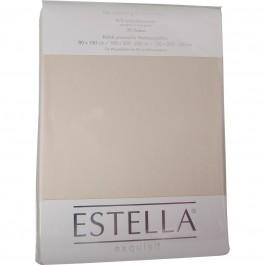 Spannbetttuch Estella Zwirn-Jersey 6900 leinen