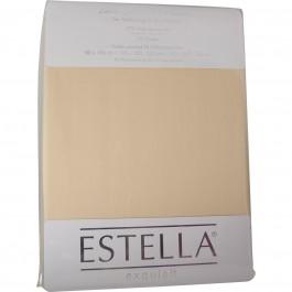 Spannbetttuch Estella Zwirn-Jersey 6900 natur