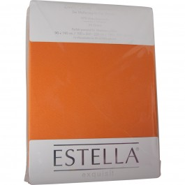 Spannbetttuch Estella Zwirn-Jersey 6900 orange