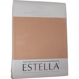 Spannbetttuch Estella Zwirn-Jersey 6900 sahara