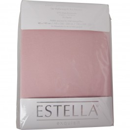 Spannbetttuch Estella Zwirn-Jersey 6900 rosa