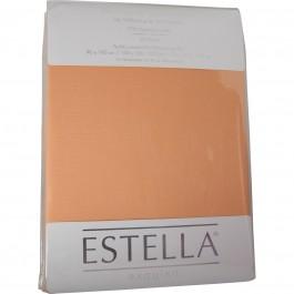 Spannbetttuch Estella Zwirn-Jersey 6900 apricot