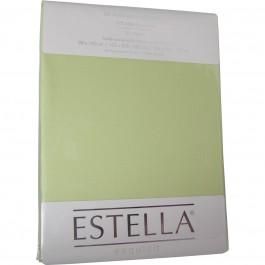 Spannbetttuch Estella Zwirn-Jersey 6900 maigrün