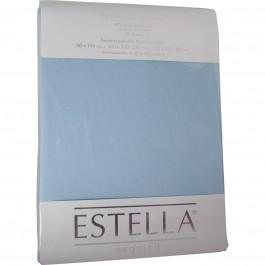 Spannbetttuch Estella Zwirn-Jersey 6900 wolke