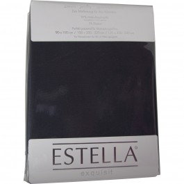 Spannbetttuch Estella Zwirn-Jersey 6900 schiefer