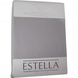 Spannbetttuch Estella Zwirn-Jersey 6900 platin
