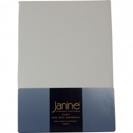 Spannbetttuch Janine Jersey 5007 ecru