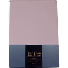 Spannbetttuch Janine Jersey 5007 zartrosa