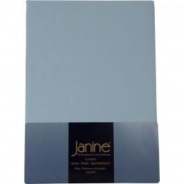 Spannbetttuch Janine Elastic Jersey 5002 hellblau