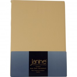 Spannbetttuch Janine Jersey 5007 vanille