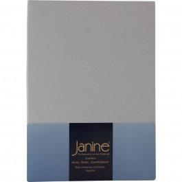 Spannbetttuch Janine Elastic Jersey 5002 platin