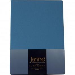 Spannbetttuch Janine Jersey 5007 blau