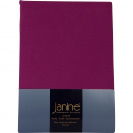 Spannbetttuch Janine Jersey 5007 fuchsia