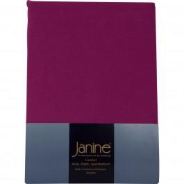 Spannbetttuch Janine Elastic Jersey 5002 fuchsia