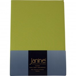 Spannbetttuch Janine Jersey 5007 apfelgrün