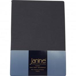 Spannbetttuch Janine Jersey 5007 titan
