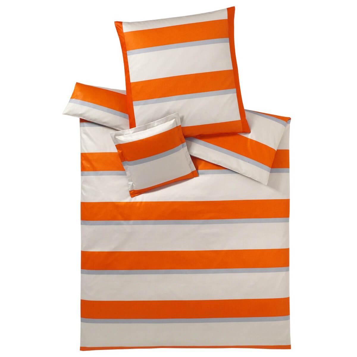 bettw sche elegante broadway 2122 orange. Black Bedroom Furniture Sets. Home Design Ideas