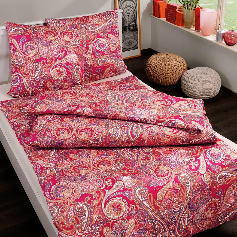 bettw sche estella elarda 6737 rot. Black Bedroom Furniture Sets. Home Design Ideas