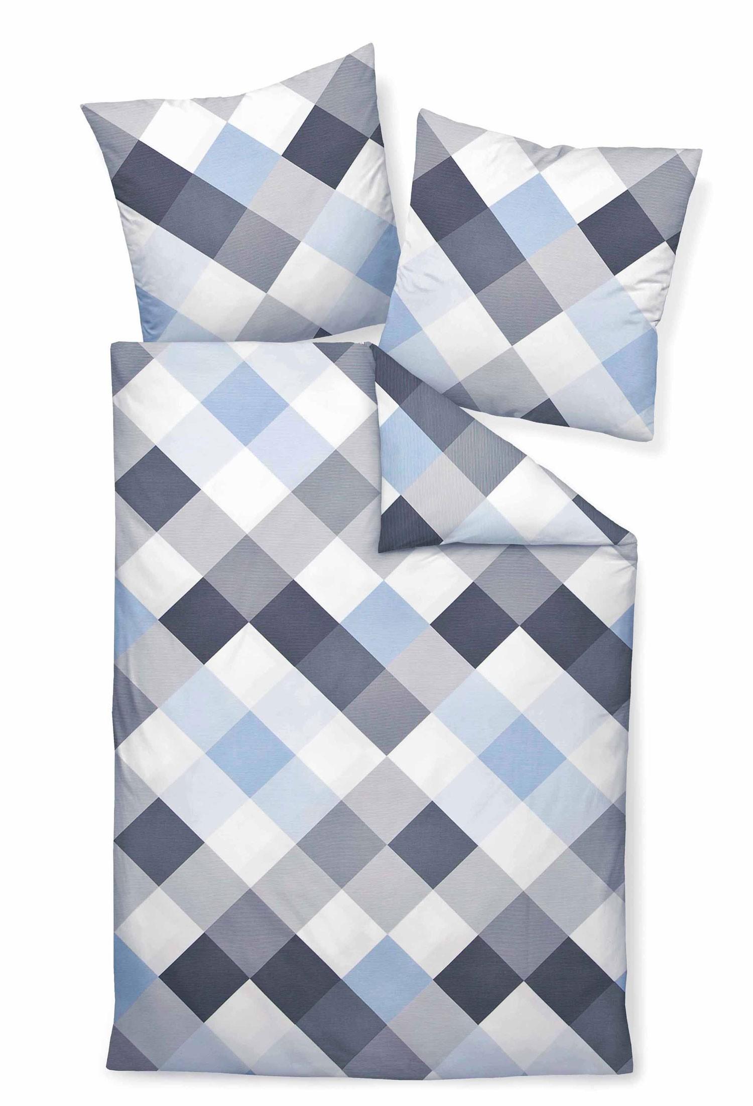 bettw sche janine moments 98010 grau blau. Black Bedroom Furniture Sets. Home Design Ideas