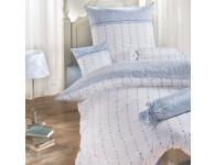 Bettwäsche Janine Chinchilla 7505 blau