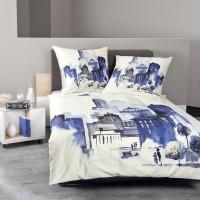 Bettwäsche Janine modern art 42025 blau