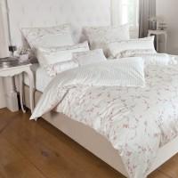 Bettwäsche Janine Romantico 46009 rosa silber