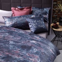 Bettwäsche Curt Bauer Luna 6204 rusty-blue Satin