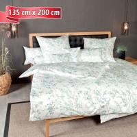 Bettwäsche Janine Carmen 53078 pastell türkis 135 cm x 200 cm