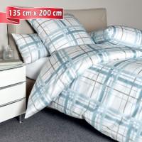 Bettwäsche Janine Carmen 53079 blau 135 cm x 200 cm