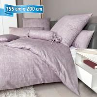 Bettwäsche Janine Messina 43086 gedämpftes violett 155 cm x 200 cm