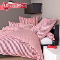 Bettwäsche Janine modernclassic 3912 rot 135 cm x 200 cm