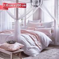 Bettwäsche Curt Bauer FINJA weiss 135 cm x 200 cm